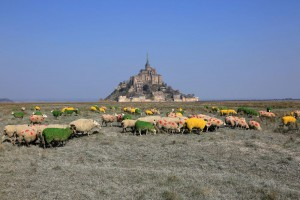 TdF 2016 start at the mount saint michel